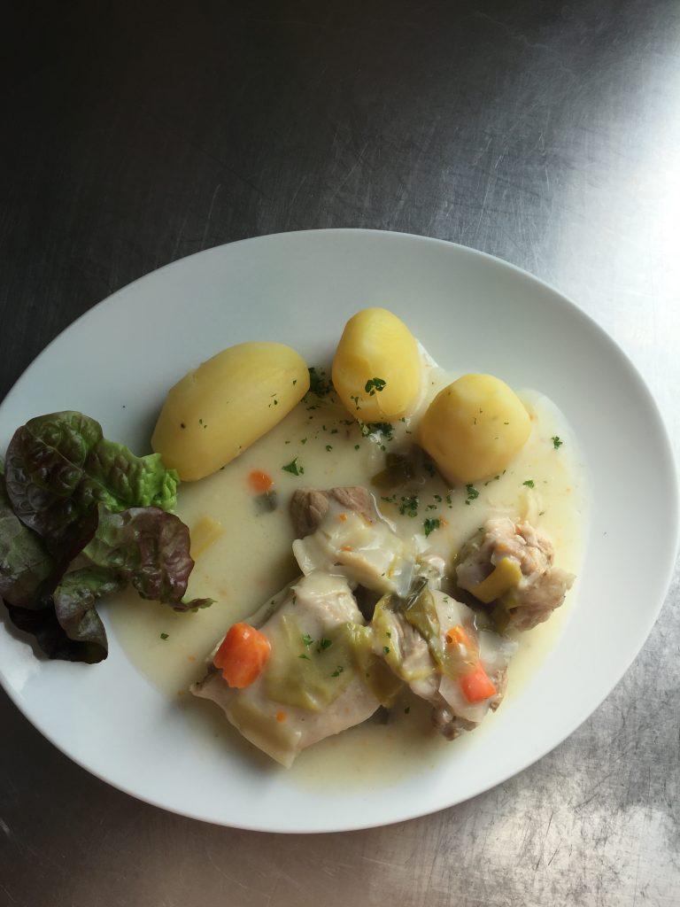 blanquette poisson plat maison restaurant