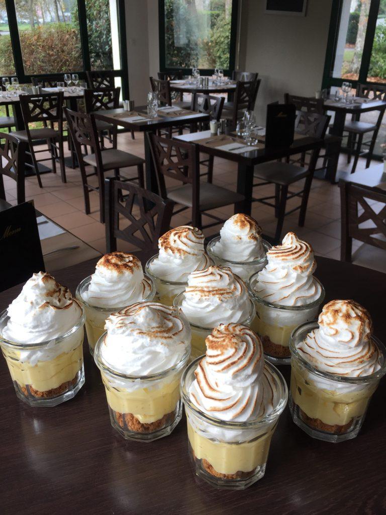 dessert verrine tarte citron maison
