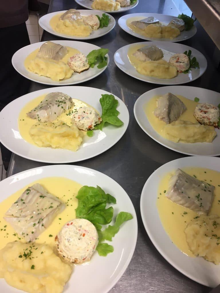 poisson beurre blanc maison groupe